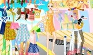 Summer Shopping Dress Up