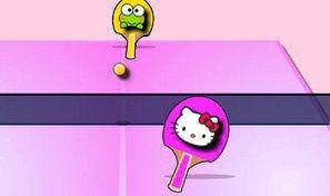 Hello Kitty Table Tennis