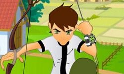 Ben 10 Bow and Arrow Shooting