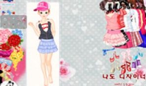 Original game title: Valentine Flower Dress Up