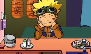 Original game title: Naruto Eat Stretched Noodle