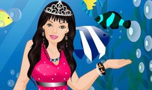Original game title: Barbie Mermaid