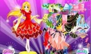 Original game title: Eva Dancer Dress Up