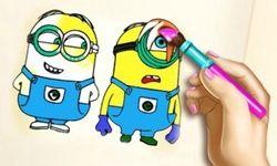 Kolorowanka z Minionkami