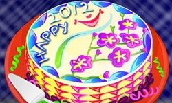 2012 New Year Cake