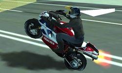 Motorbike vs Police