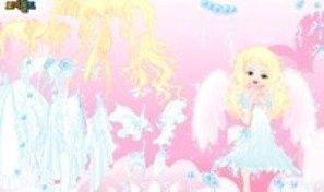 Blonde Angel Dress Up