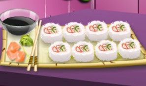 Sara's Cooking Class: California Rolls