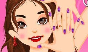 Barbie Trendy Nail Designs