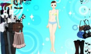 Original game title: Black and White Dressup