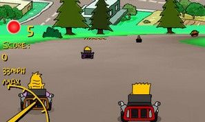 Original game title: Simpsons 3d Kart