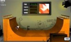 Original game title: Skate halfpipe