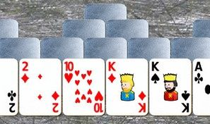 Original game title: Steel Tower Solitaire