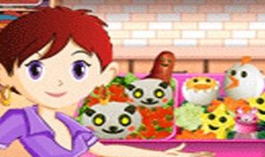 Original game title: Sara's Cooking Class: Bento Box
