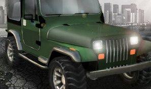 Original game title: 3D Jeep Venture