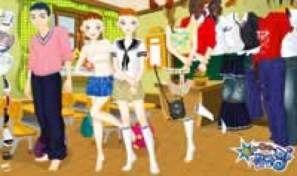 Original game title: Girl and Boy Dress Up