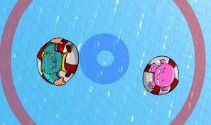 Original game title: Monster Poolside Sumo