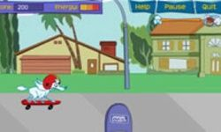 La Aventura de Skate de Puff