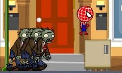 Lari Zombi Spiderman
