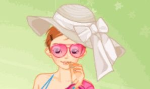 Original game title: Spring Flower Dress Up