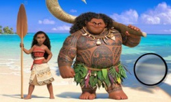 Moana Hidden Letters