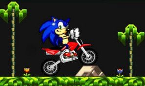 Original game title: Sonic Hedgehog Moto