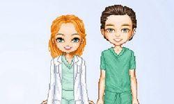 Dokter en Zuster Aankleden