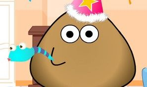 Pou Happy Birthday