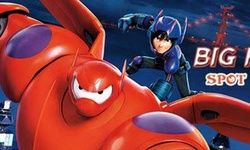 Big Hero 6 Spot the Numbers