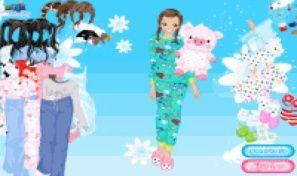 Original game title: Pajamas Dress Up