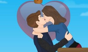 Kissing Fun: Justin Selena