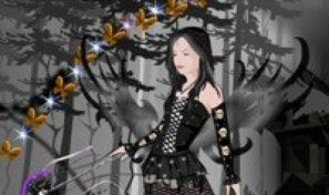 Dark Angel Dress Up Game
