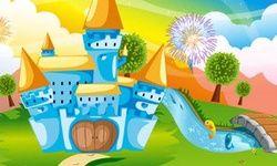 Украсяване на фантастичен замък