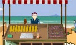 Original game title: Indian Corn Shop