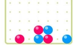 4 Balls Straight