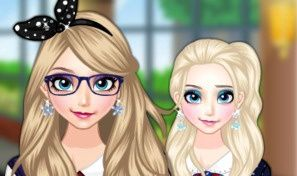 Elsa Goes to School Dress-Up