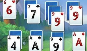 Original game title: Fairway Solitaire