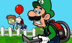 Luigi Shoot Zombie