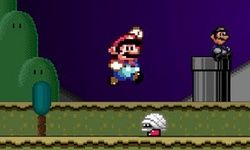 Super Mario de Halloween
