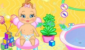 Original game title: Baby Bathing:Time to Sleep