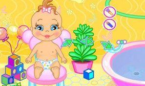Original game title: Baby Bathing:Time to Sleep