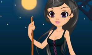 Beautiful Witch Dress Up