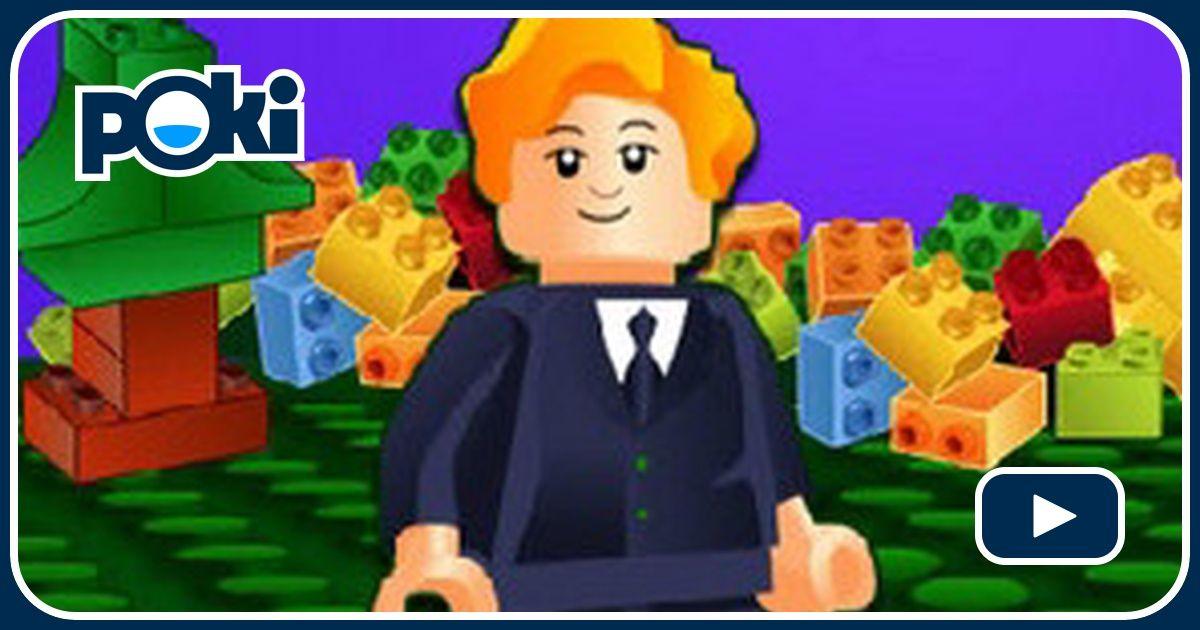 Brick Builder Game - Lego Games - GamesFreak