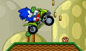 Original game title: Sonic ATV in Mario Land