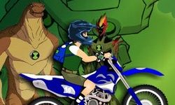 Ben10 Motorbike Race