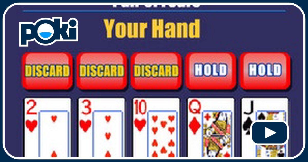Juega video poker gratis