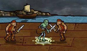 Original game title: Undead Throne