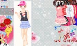 Valentine Flower Dress Up