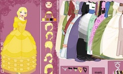 Princess Doll Dress Up