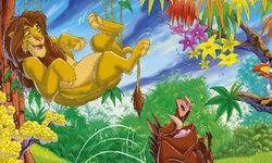Quebra-cabeça do Timão e Pumba